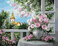 """Картины по номерам """"Букет чудесных роз"""", 40х50см (КН2204)"""