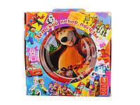 Детский набор посуды с героями мультфильмов