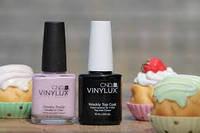"""Покриття нігтів Френч лаком Vinylux CND, салон краси """"Доміно"""" (Сихів)"""