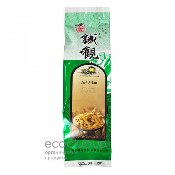 Чай Белый Пу-Эр Люй Я Бао Сокровища Поднебесной 25 г