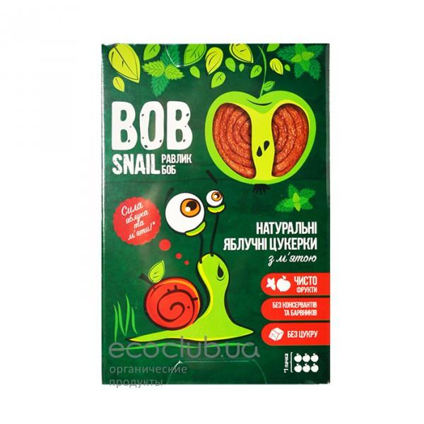 Конфеты яблочные с мятой Bob Snail Равлик Боб 60г
