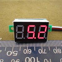 Вольтметр 100v цифровой мини DC 4-30В (0-100B)