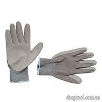 """Перчатки трикотажные с нитриловым покрытием 10"""", (120 пар ящик) INTERTOOL SP-0122"""