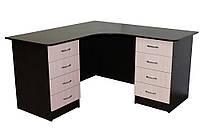 Угловой офисный стол ОН-62 Ника-Мебель