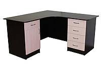 Угловой офисный стол ОН-67 Ника-Мебель