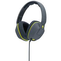 SKULLCANDY Наушники SKULLCANDY CRUSHER OVER-EAR W/MIC 1 GRAY/HOT LIME/HOT LIME (S6SCGY-134)