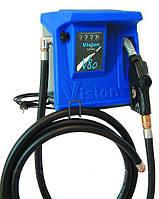 Топливораздаточная колонка VISION 80, 220В, 80 л/мин, для дизельного топлива (дизеля, ДТ) без пьедестала КИЕВ
