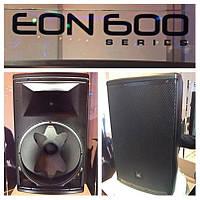 Новые активные акустические системы JBL EON600