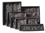 Форма для виробництва фасадної плитки «Рваний Камінь №3», фото 2