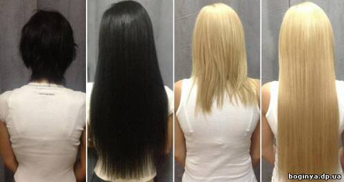 Наращивание волос микрокапсульное Днепропетровск