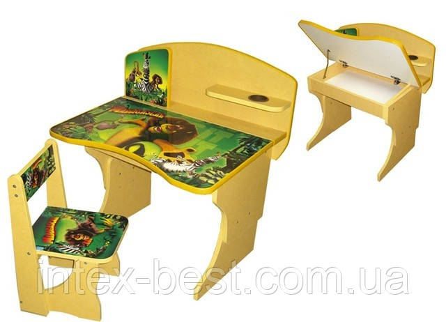 """Детская стол-парта """"Мадагаскар"""""""