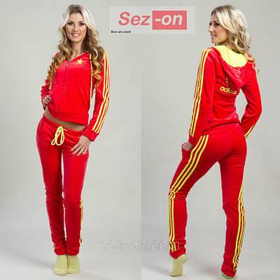 4f8d93a98a17 Костюм спортивный женский Adidas в расцветках оптом и в розницу ...