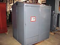 Киосковая подстанция с кабельным вводом КТПК 25-40-63-100 кВА (с РВЗ 10/400)