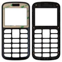 Передняя панель корпуса для мобильного телефона Fly Ezzy 6, original, черная, без стекла, #3.01.00173.00YJ