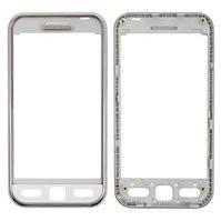 Передняя панель корпуса для мобильного телефона Samsung S5230 Star, original, белая, #GH98-11970E