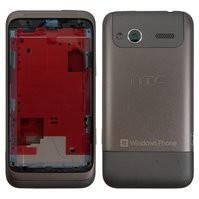 Корпус для мобильного телефона HTC C110e Radar, серый