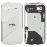 Корпус для мобильных телефонов HTC G14, G18, Z710e Sensation, Z715e Sensation XE, белый