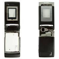Корпус для мобильного телефона Nokia N76, high-copy, черный