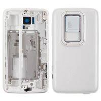 Корпус для мобильного телефона Nokia N900, high-copy, белый