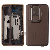 Корпус для мобильного телефона Nokia N900, high-copy, бронзовый