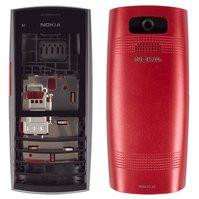 Корпус для мобильного телефона Nokia X2-05, High Copy, красный