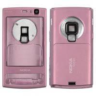 Корпус для мобильного телефона Nokia N95 8Gb, high-copy, розовый