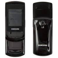 Корпус для мобильного телефона Samsung E2550, high-copy, черный