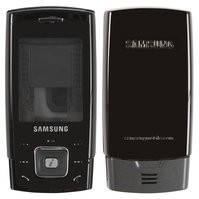 Корпус для мобильного телефона Samsung E900, high-copy, черный