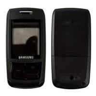 Корпус для мобильных телефонов Samsung E250, E250D, high-copy, черный