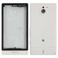Корпус для мобильного телефона Sony MT27i Xperia Sola, белый