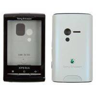 Корпус для мобильного телефона Sony Ericsson X10 mini, high-copy, белый