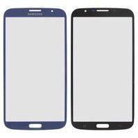 Стекло корпуса для мобильных телефонов Samsung I9200 Galaxy Mega 6.3, I9205 Galaxy Mega 6.3, синее
