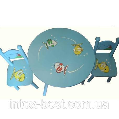 Детский столик со стульчиками 66314, фото 2