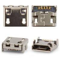 Коннектор зарядки для мобильных телефонов LG E162, E400 Optimus L3, E610 Optimus L5, P700 Optimus L7, P705 Optimus L7, P880 Optimus 4X HD, 5 pin,