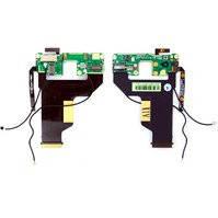 Шлейф для мобильного телефона HTC P3700 Diamond, боковых клавиш, камеры, динамика, с компонентами