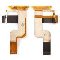 Шлейф для мобильного телефона HTC T7272 Touch Pro, боковых клавиш, межплатный, с компонентами, CDMA  версия