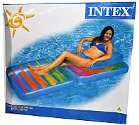 Кресло надувное пляжное Intex
