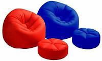 Кресло с пуфиком Intex