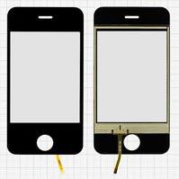 Сенсорный экран для мобильных телефонов China-iPhone 4, 4s, 87 мм, тип 1, (110*57мм), (72*49мм), #0010F-04