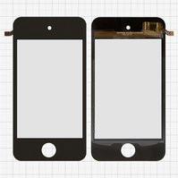 Сенсорный экран для мобильных телефонов China-iPhone 4, 4s, емкостный, черный, 90 мм, тип 7, (110*56мм), (75*50мм), #XS3523-IV-FPCV2