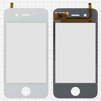 Сенсорный экран для мобильных телефонов China-iPhone 4, 4s, емкостный, белый, 90 мм, тип 5, (113 * 56 мм), (75*50мм), #CTG-035-0108-FPC-V4