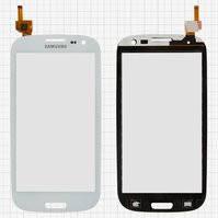 Сенсорный экран для мобильных телефонов China-Samsung I9300, S3, белый, емкостный, (133*68мм), (104*59мм), #BXW4705M-B