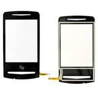 Сенсорный экран для мобильного телефона Fly E130, original, черный, #M04J00000100
