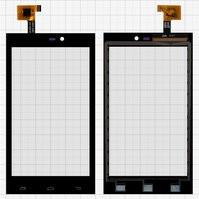 Сенсорный экран для мобильного телефона Gigabyte GSmart Roma R2, черны