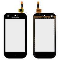 Сенсорный экран для мобильного телефона Lenovo S760, черный