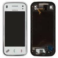 Сенсорный экран Nokia N97 Mini, с передней панелью, белый