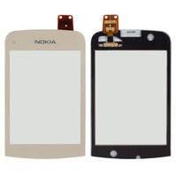 Сенсорный экран для мобильных телефонов Nokia C2-02, C2-03, C2-06, C2-07, C2-08, золотистый