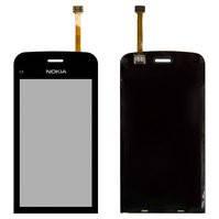 Сенсорный экран для мобильных телефонов Nokia C5-03, C5-06, copy, черный
