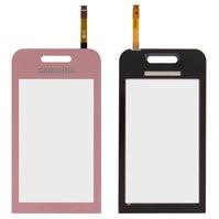 Сенсорный экран для мобильного телефона Samsung S5230 Star, розовый