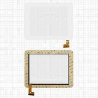 "Сенсорный экран для планшетов China-Tablet PC 8""; Sanei N83; Ampe A85, 8"", 50 pin, емкостный, белый, (208*160 мм), #TPC0532 VER3.0"